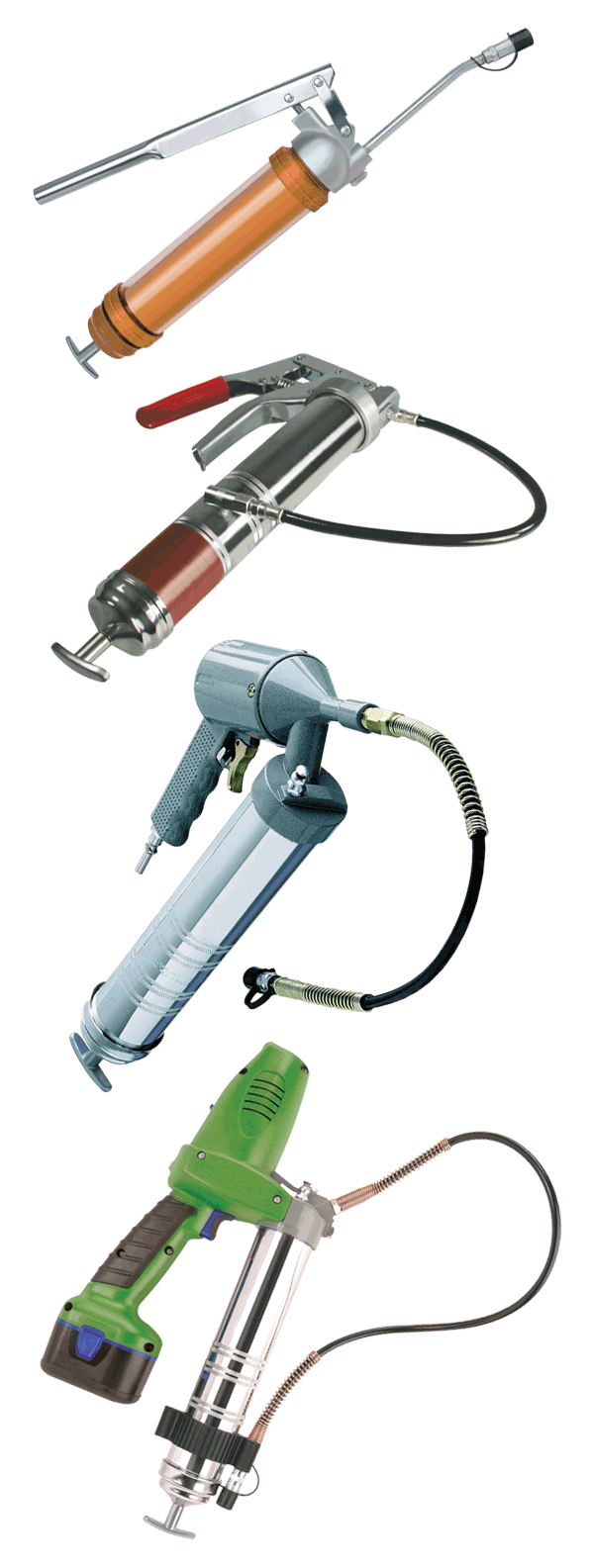medium resolution of grease guns have three ways in which they can be powered by hand air or electricity aside from these variations the hand powered or manual grease guns