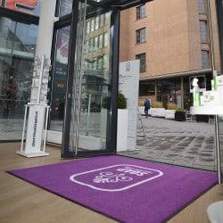 tapis professionnel caillebotis pour