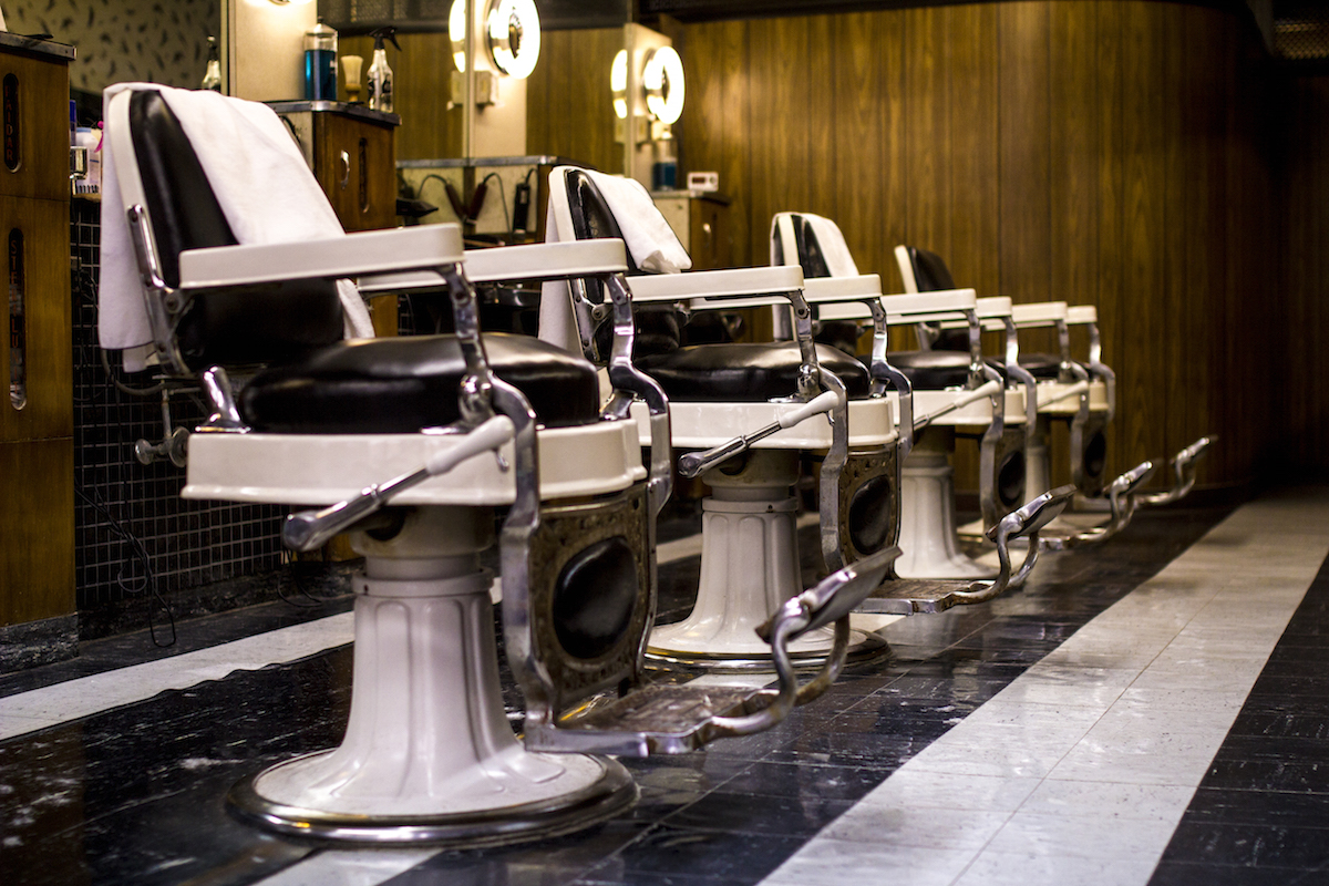 Old School Barber Chair Spin City North By Northwestern