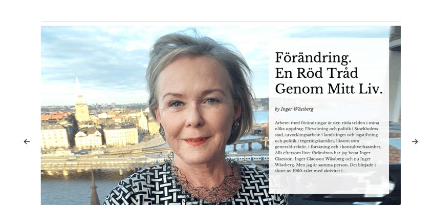 Ny Webb För Inger