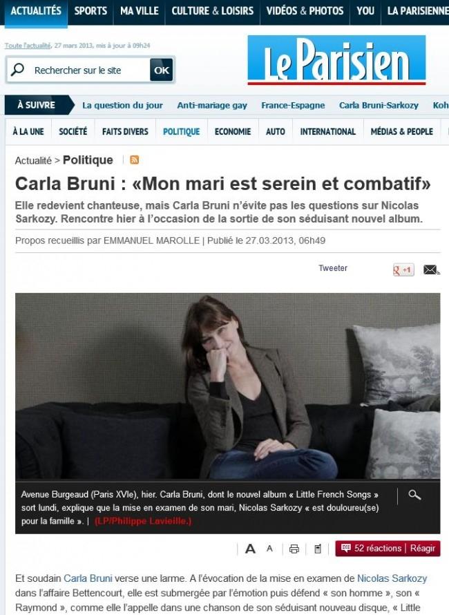 Rien Qu'une Larme Dans Tes Yeux : qu'une, larme, Carla, Bruni-Sarkozy, Qu'une, Larme