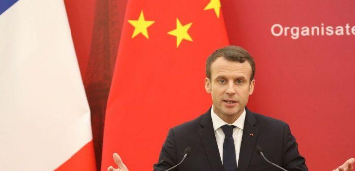 Emmanuel Macron, membre du club des Young Leaders China