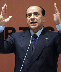 Silvio Berlusconi called the new U.S. president-elect