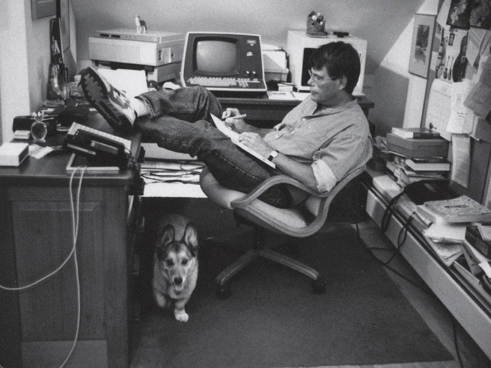 Stephen King's office
