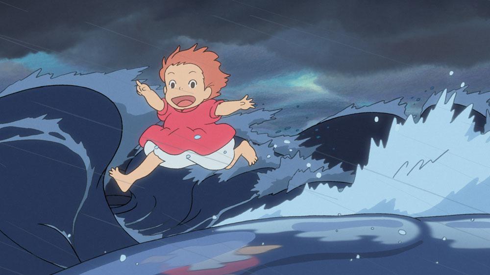 Sweet Anime Wallpaper Movie Review Miyazaki S Ponyo Swimming Magically