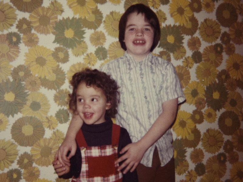 siblings share genes but