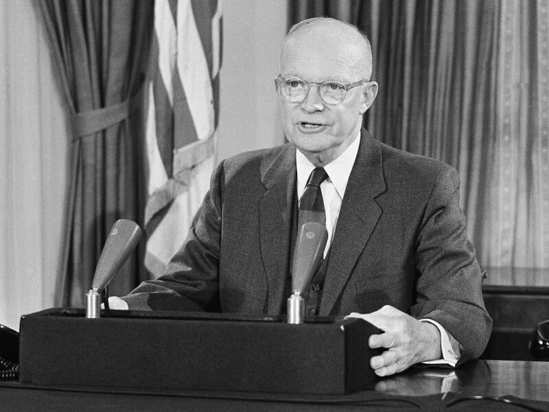 Eisenhower's Military-Industry Complex Warning, 50 Years Later : NPR