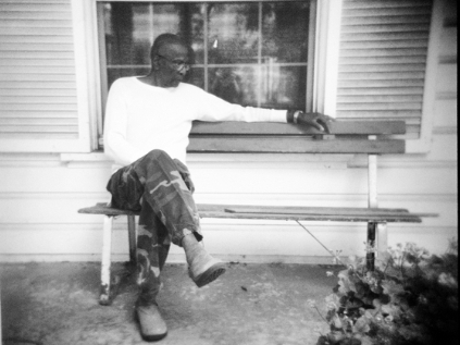 Robert Dixon Sr., outside his home in Stockton, Calif., on May 14. His son, Robert Dixon Jr., was denied parole after a psychological evaluation deemed him a psychopath.
