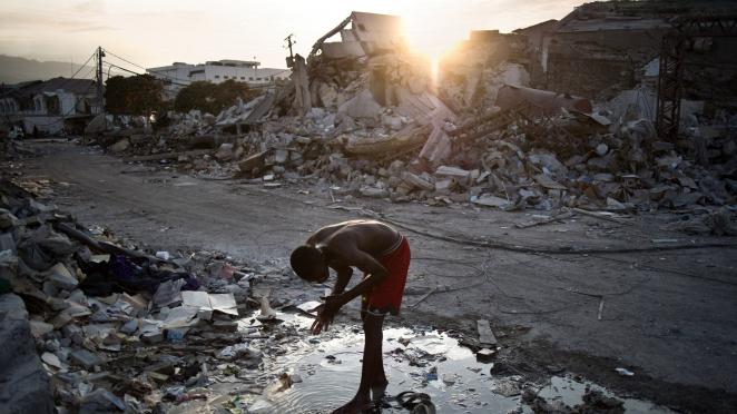 Paul Farmer Examines Haiti After The Earthquake  NPR
