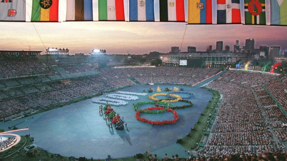 Olympic Triumph Amid Tragedy At 1996 Games : NPR