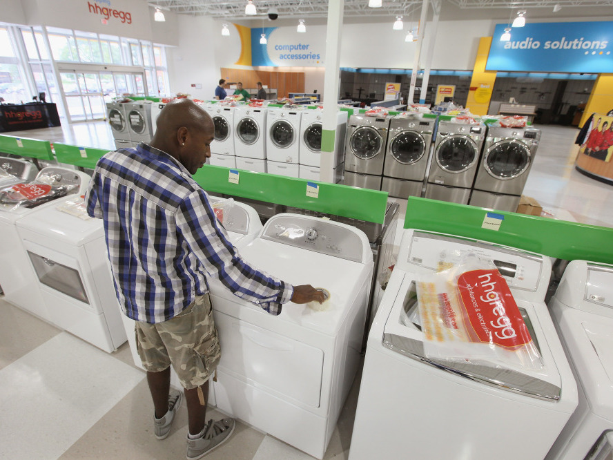 Spending increased only 0.4 percent in the second quarter, the weakest growth since the final three months of 2009. People bought fewer long-lasting manufactured goods, such as autos and appliances.