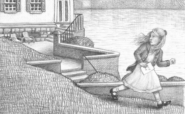 """A Wordless World: The story of Rose, a deaf little girl in Brian Selznick's Wonderstruck, is told primarily in pictures. """"We experience [Rose's] story in a way that perhaps might echo the way she experiences her own life,"""" Selznick explains."""