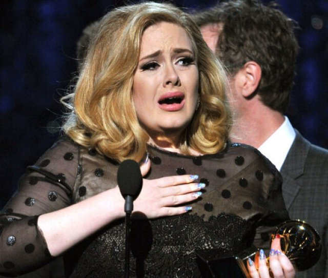 Adele Won The Song Of The Year Category At This Years Grammy Awards For Her Tear Jerker Someone Like You Kevin Winter Getty Images Hide Caption