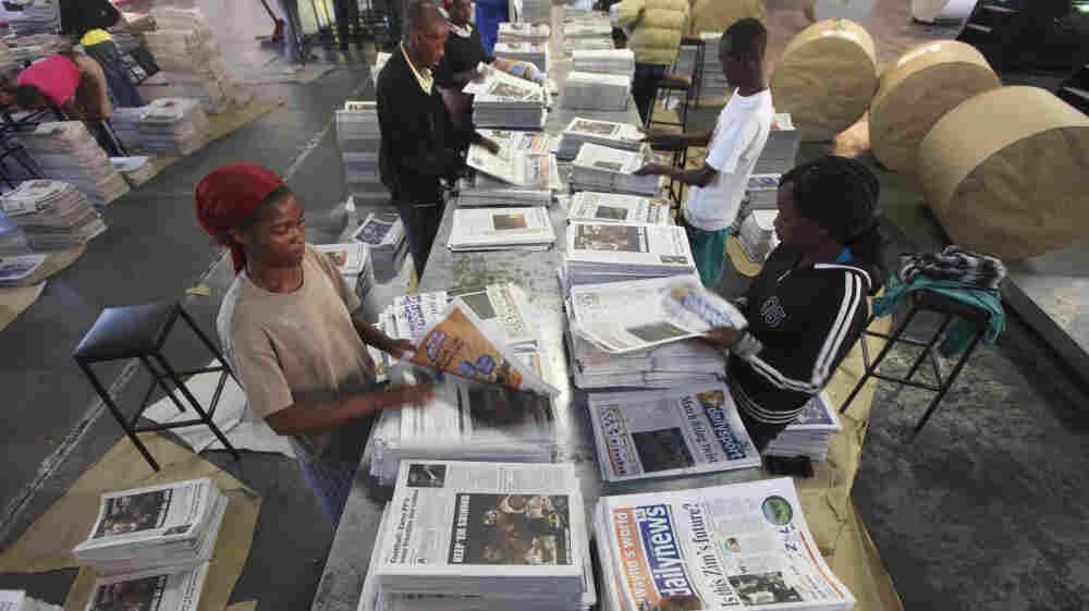 In Zimbabwe's Media. It's All About Robert Mugabe : NPR