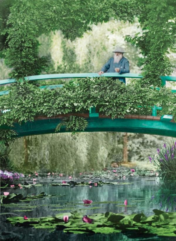 Monet' Green Thumb Art Grew Garden Npr