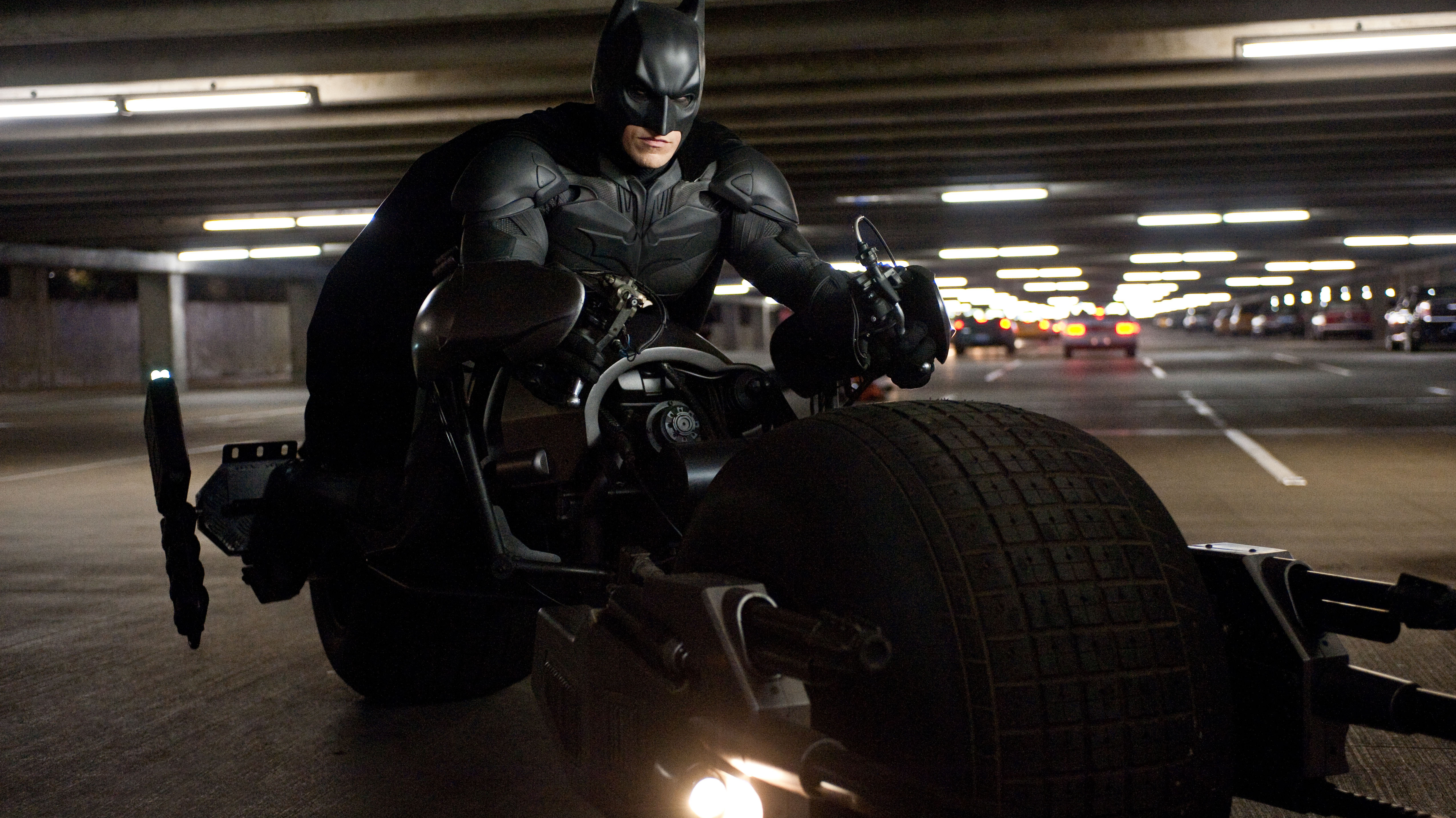 Christian Bale as Batman in The Dark Knight Rises. The final film in Christopher Nolan's Batman trilogy, which began with Batman Begins in 2005, deals explicitly with our contemporary political times.