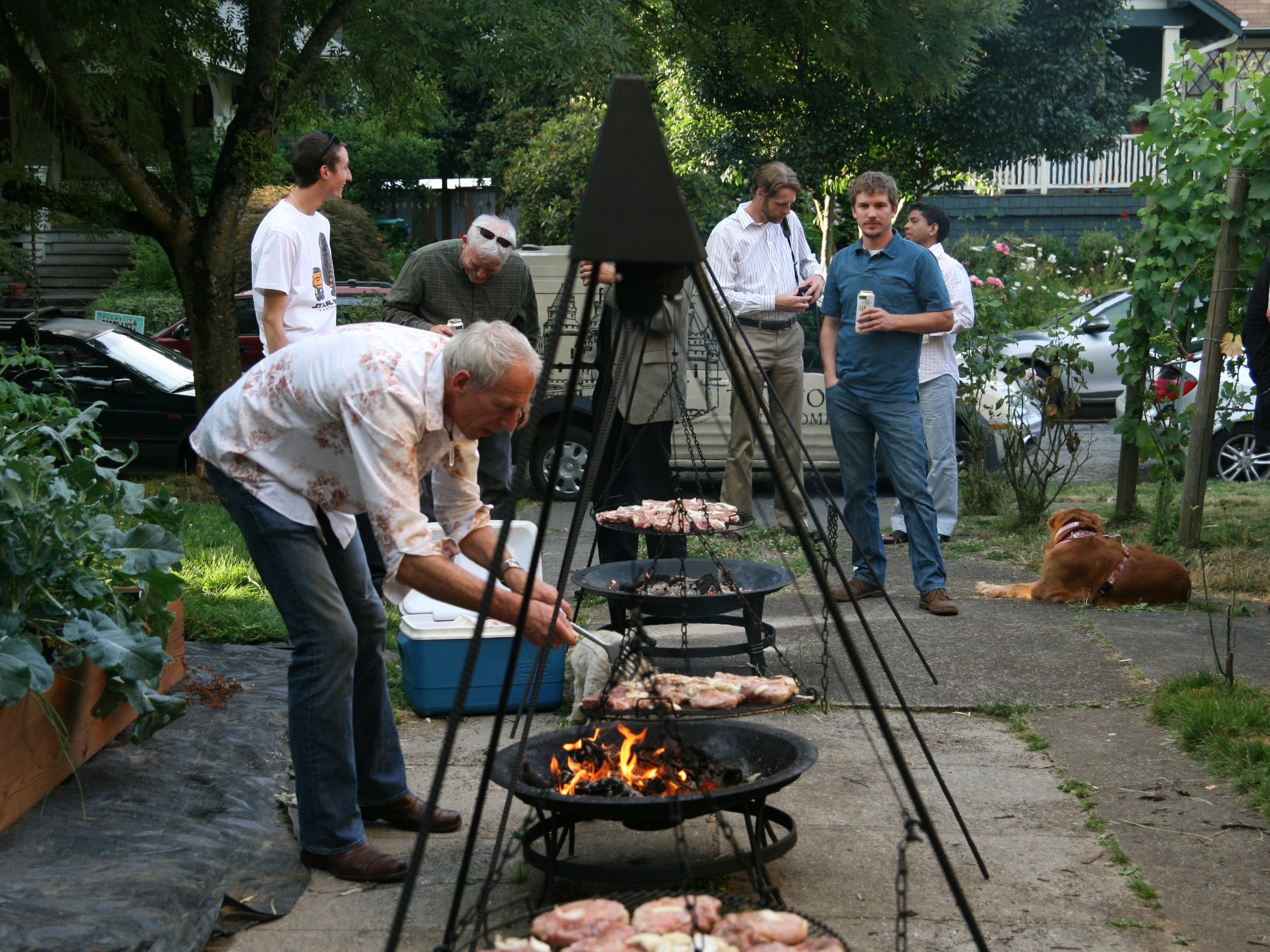 Creating A Schwenker World One Backyard Grill At A Time The Salt Npr