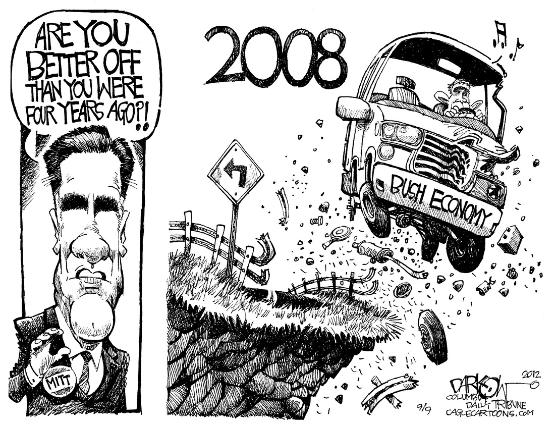 Double Take 'Toons: The Party's Over : NPR