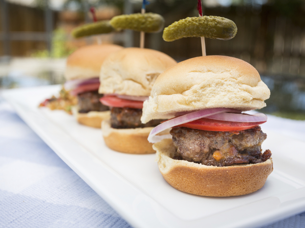 Sliders. We're over them, the National Restaurant Association says.