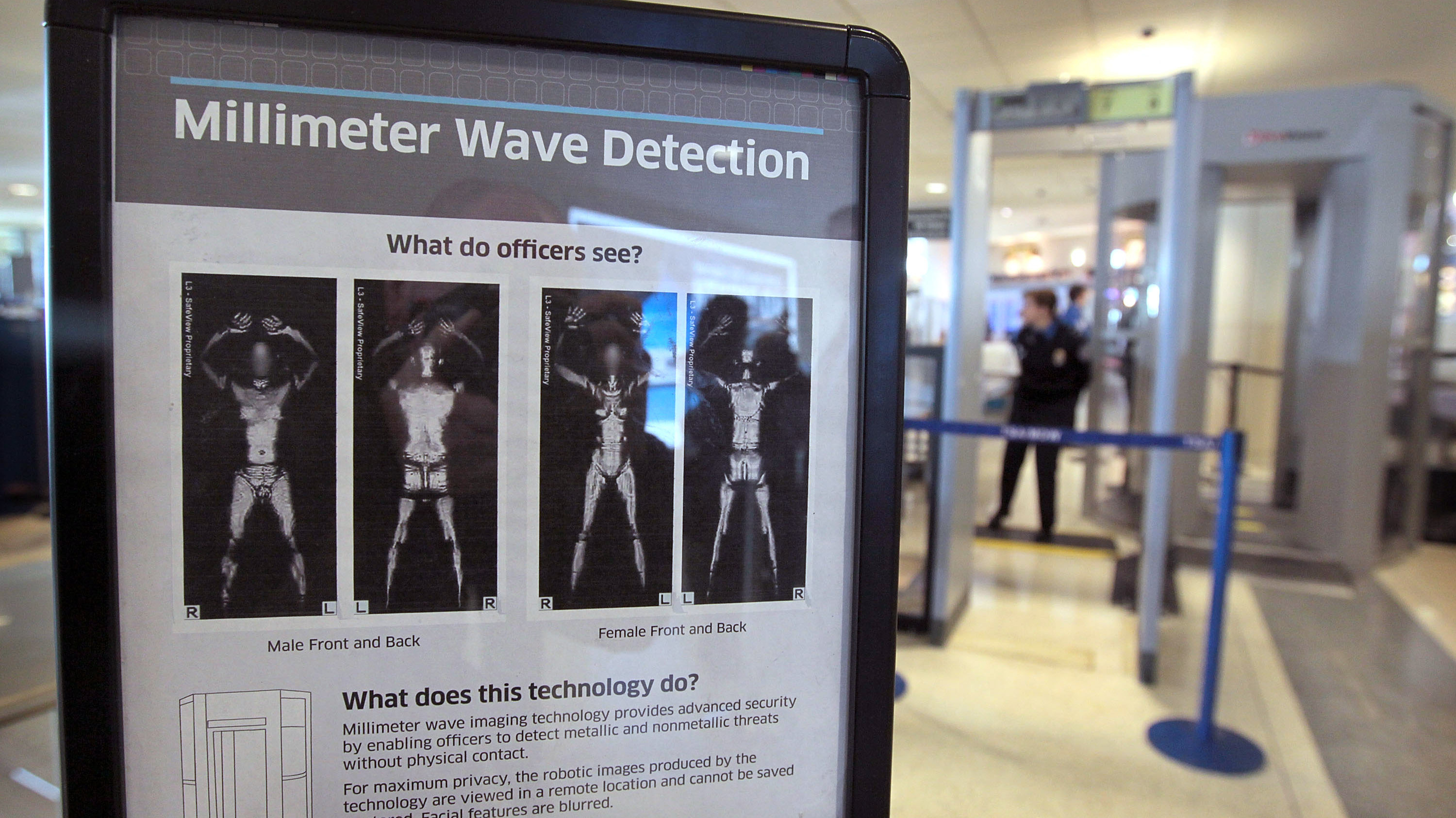 Invasive Body Scanners Will Be Removed From Airports