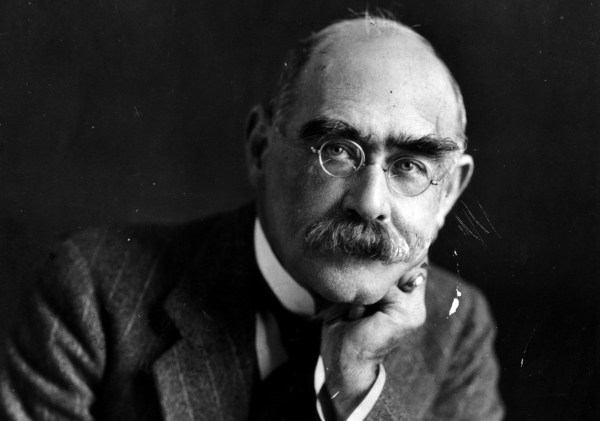 El escritor angloindio Rudyard Kipling.