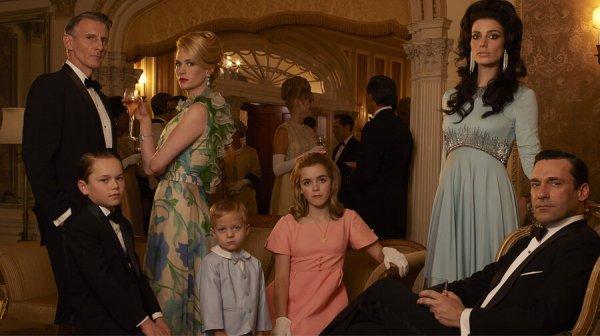De familie van Donald Draper
