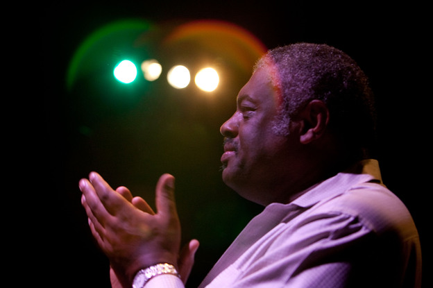 Mulgrew Miller onstage in 2011 in Potenza, Italy.