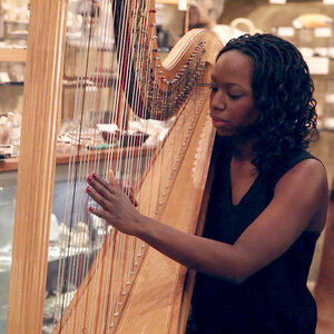 Brandee Younger: Taxidermy, Two-Headed Skeletons And Jazz Harp