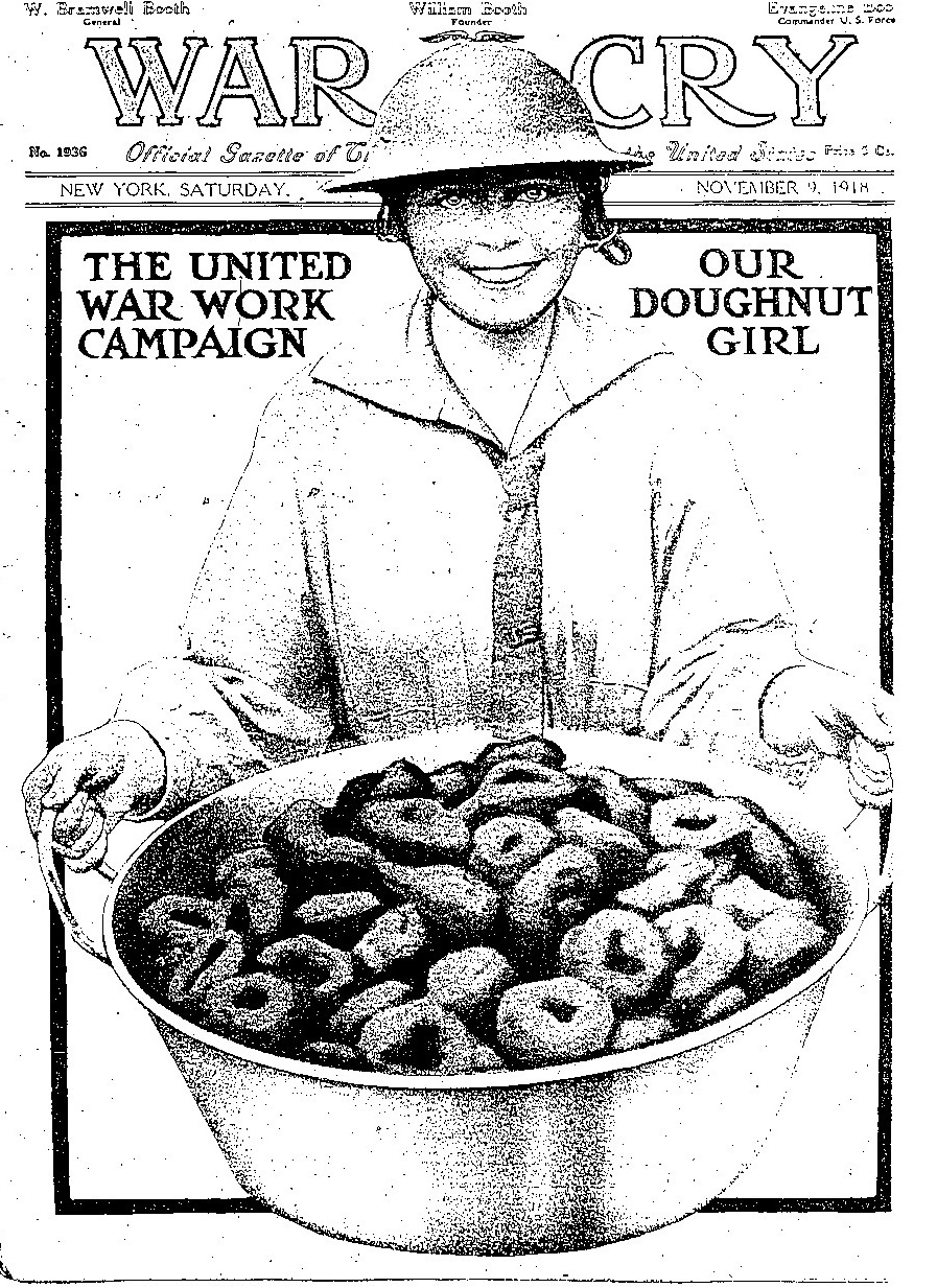 A Feel-Good History Of National Doughnut Day : The Salt : NPR