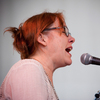 Iris Dement performs at the 2013 Newport Folk Festival.