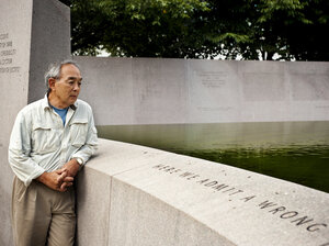 John Tateishi was incarcerated at Manzanar internment camp in California from age 3 until he was 6.