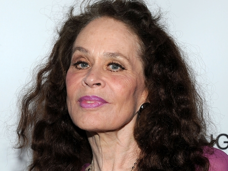 Actress Karen Black arriving for a reception celebrating the release of the limited edition fine art photography of Alan Cumming in Los Angeles in 2012.