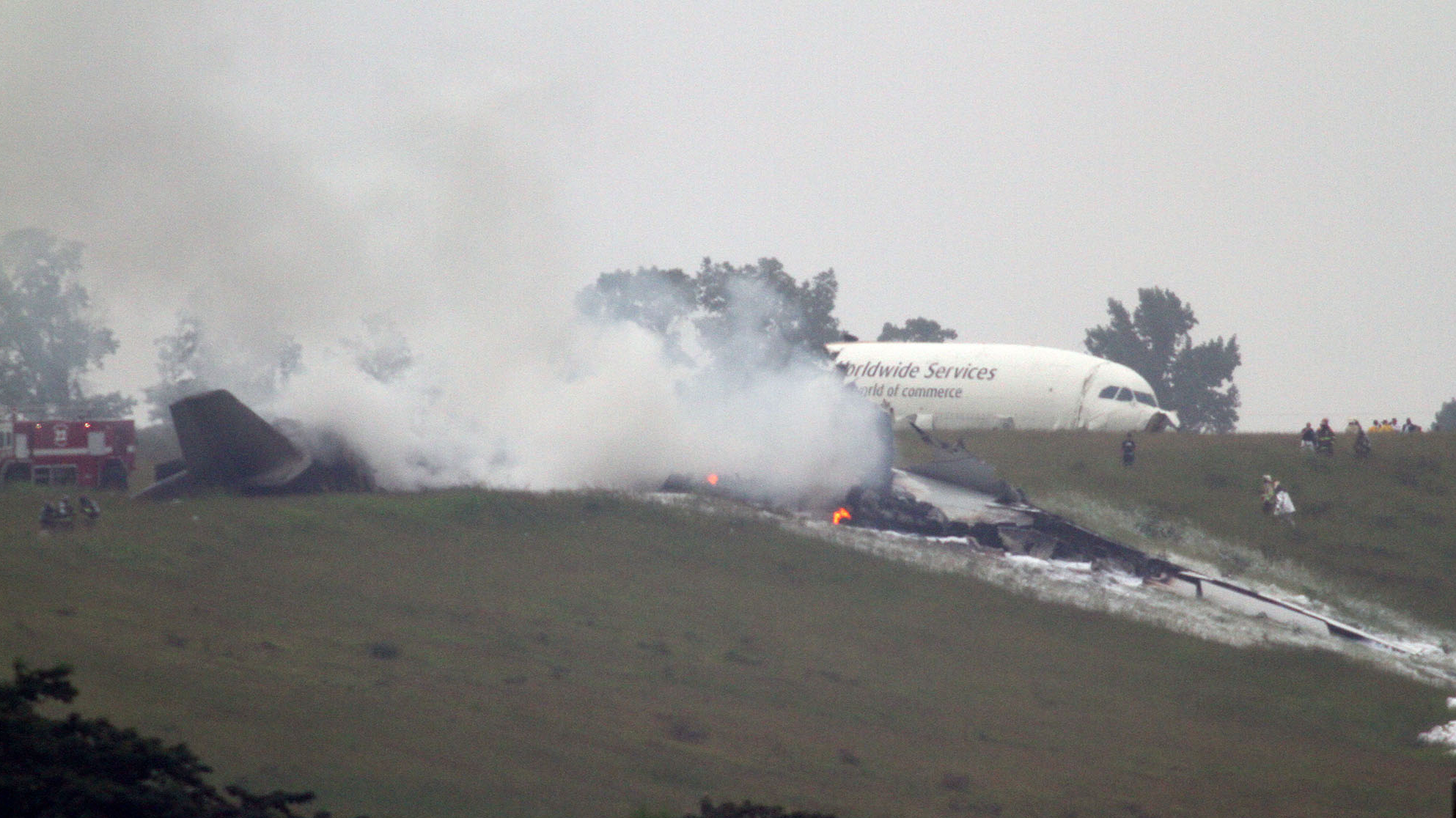 2 Killed When UPS Cargo Plane Crashes In Alabama  The Two