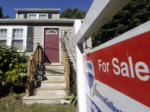 If interest rates go up due to the fear or reality of a debt default that would have major consequences for real estate sales.