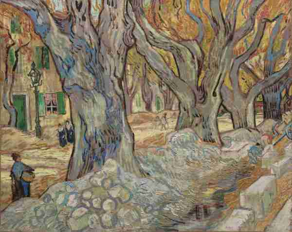 Large Plane Trees Van Gogh
