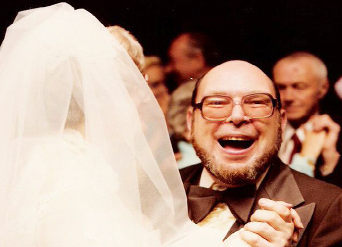 Danny and Annie Perasa on their wedding day on April 22, 1978.