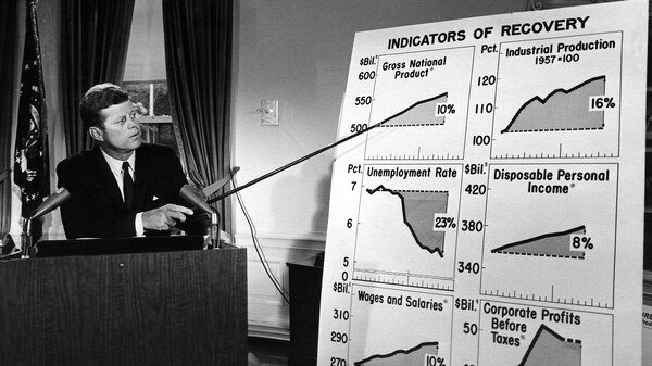 JFK Pitching Tax Plan