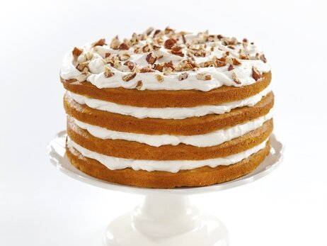 Maple-Pumpkin stack cake