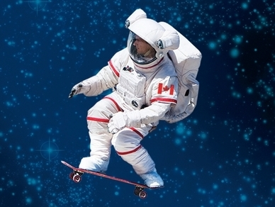 race car desk chair philippe starck ghost astronaut chris hadfield brings lessons from space down to earth : npr