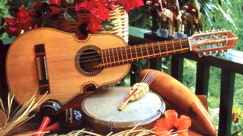 Traditional Instrument Puerto Rico