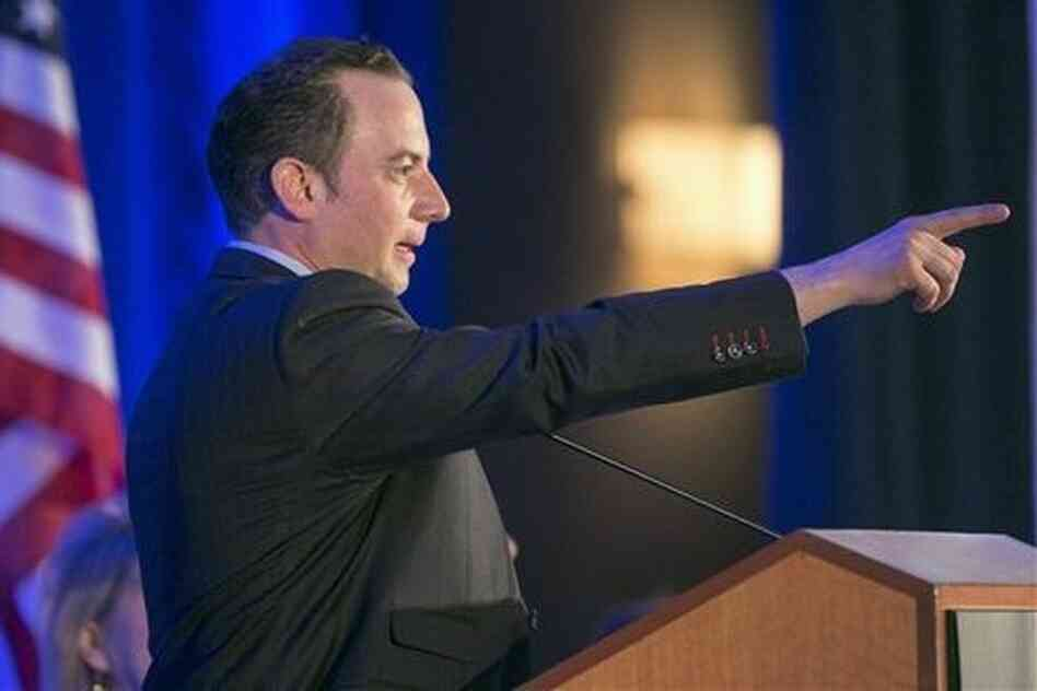 Reince Priebus, Republican National Committee chairman, said Tuesday the GOP will continue to point the finger of blame for the Affordable Care Act at vulnerable Democrats.