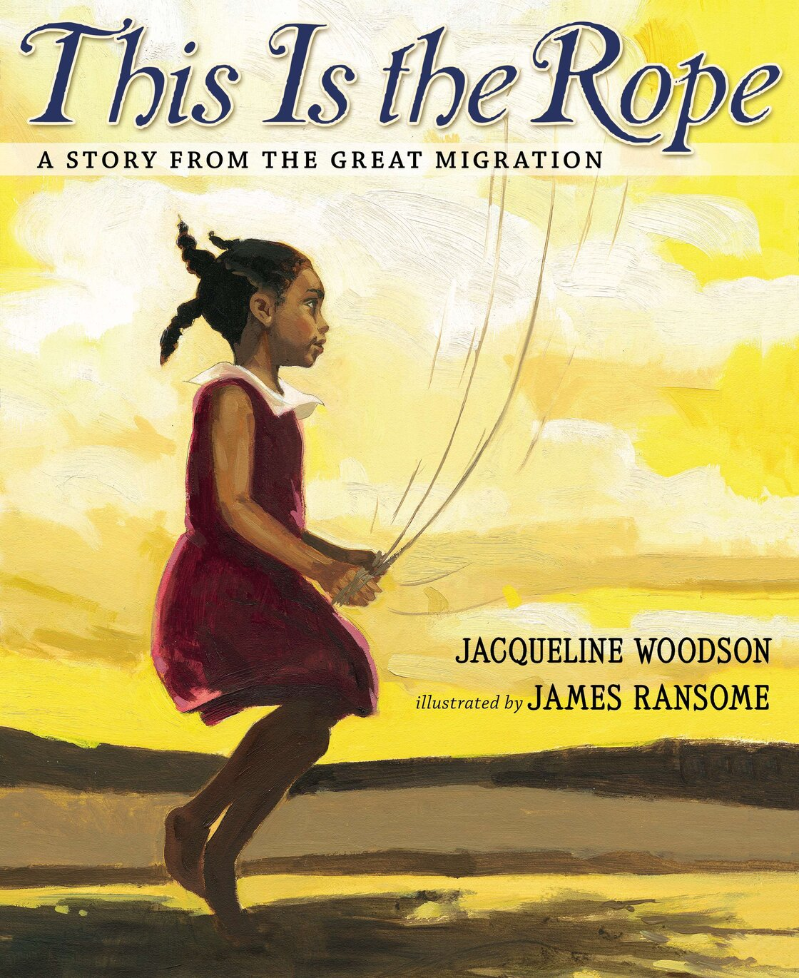 Excerpted from This Is The Rope: A Story Of The Great Migration by Jacqueline Woodson, illustrated by James Ransome. Copyright 2013 by Jacqueline Woodson and James Ransome. Excerpted by permission of Nancy Paulson Books.