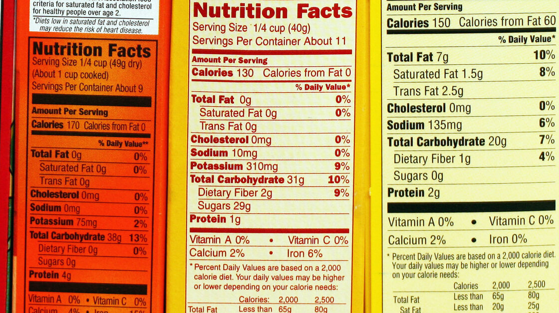Nutrition labels will be getting a makeover this week to make it easier for consumers to understand the information.