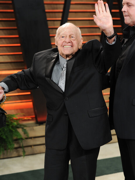 Mickey Rooney attends the 2014 Vanity Fair Oscar Party last month in West Hollywood.