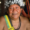 Shaman Davi Kopenawa Yanomami is an advocate for his people and president of the Hutukara Yanomami Association.