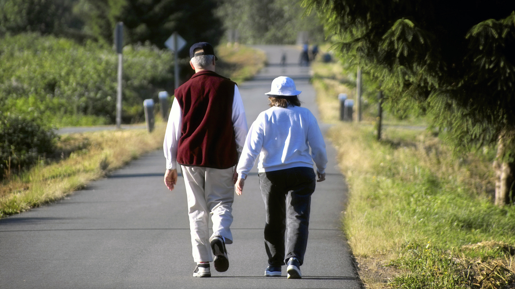 When Older People Walk Now They Stay Independent Later
