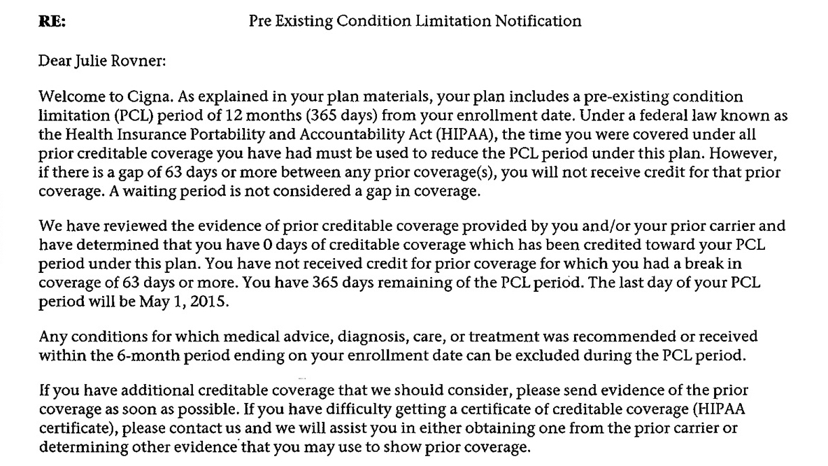Are PreExisting Condition Bans For Health Insurance Still