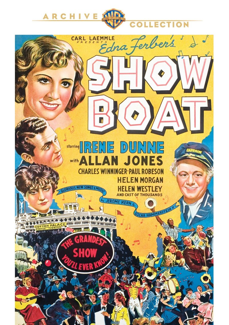 Paul Robeson Showboat : robeson, showboat, 'Show, Boat':, Multiracial,, Musical, Melodrama,