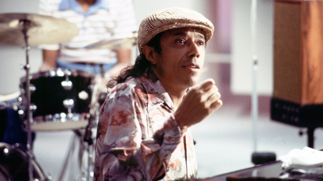 Horace Silver performs for television in Copenhagen, Denmark, in 1979.