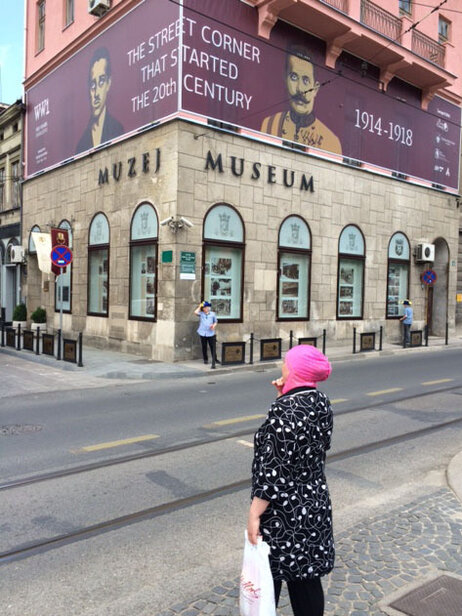 Today, a museum marks the spot where the fateful assassination that sparked World War I occurred.